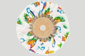 Фланелевые и хлопчатобумажные полировальные круги