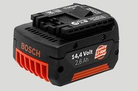 Аккумуляторы к аккумуляторным инструментам Bosch
