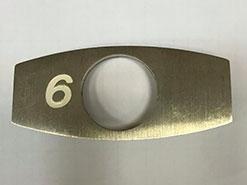 Шлифовка кнопок для лифтов OTIS