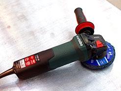 Обзор УШМ (болгарки) Metabo WEV 15-125 Quick Inox с регулировкой оборотов