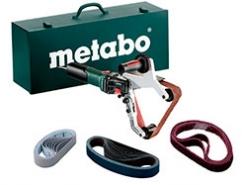 Обзор Metabo RBE 15-180 Set ленточной шлифовальной машины для труб с электроникой
