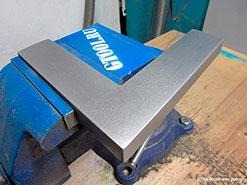 Технология матирования изделий из металла