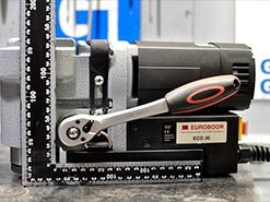 Euroboor ECO.36 - самый маленький сверлильный станок на магните