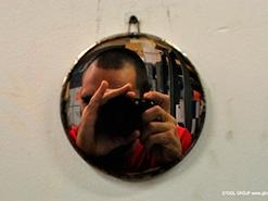 Зеркало из нержавейки своими руками