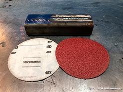 Новые круги на липучке с керамическим зерном VSM