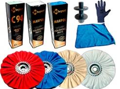 GTOOL POLISHING Kit. Набор для полировки алюминия, латуни и других металлов.