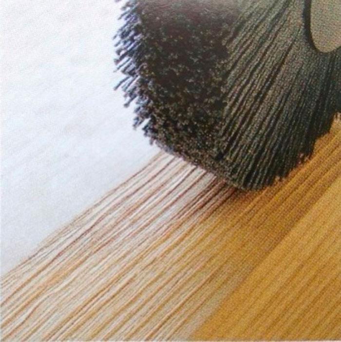 Очистка, текстурирование и финишная обработка полимерабразивом