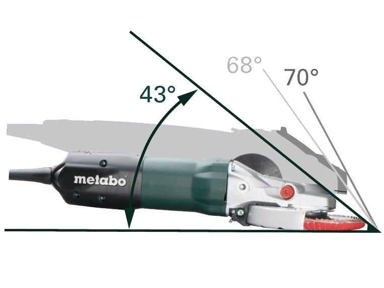 фото Metabo WEF9-125 угловая шлифовальная машина