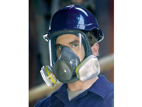 фото Полнолицевая маска 3М™ 6000 (6700) - малый размер