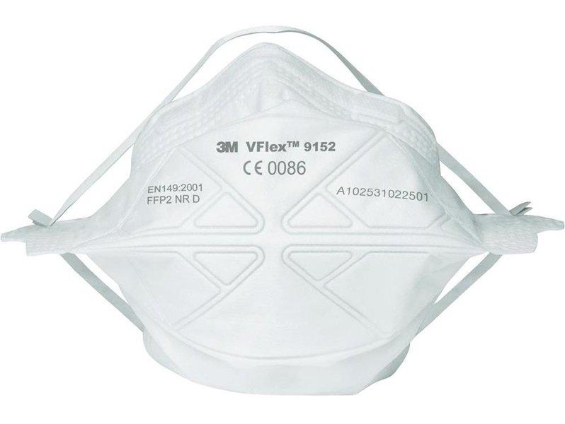 фото Противоаэрозольная полумаска фильтрующая (респиратор) 3M VFlex 9152 (FFP2, до 12 ПДК)