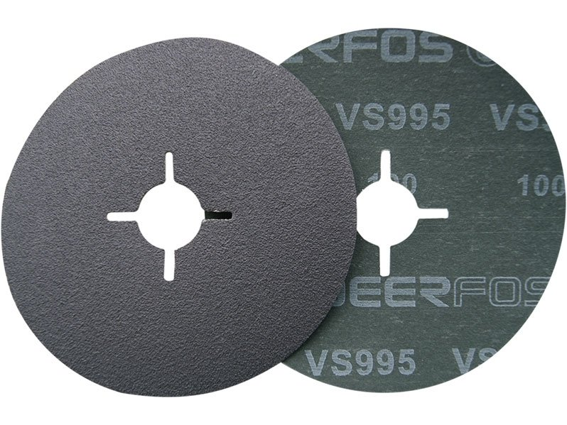 фото Фибровый круг диаметр 125мм, зерно P80