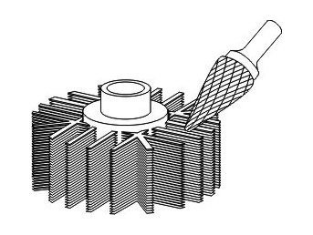 фото Борфреза GTOOL форма M конус, диаметр головки 3мм