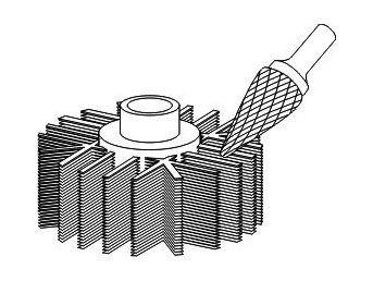 фото Борфреза GTOOL форма M конус, диаметр головки 8мм