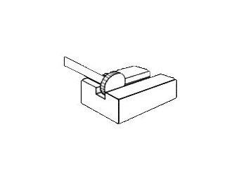 фото Борфреза GTOOL форма T, диаметр головки 8мм