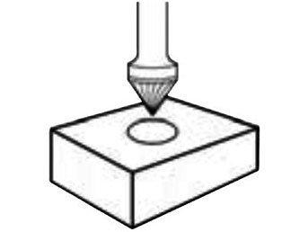 фото Борфреза GTOOL форма J зенкер с вершиной 60°, диаметр головки 12мм