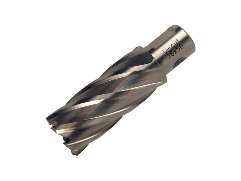 фото Корончатое сверло по металлу GTOOL G-Cut XE Weldon19 глубина 50/55мм, диаметр 12мм