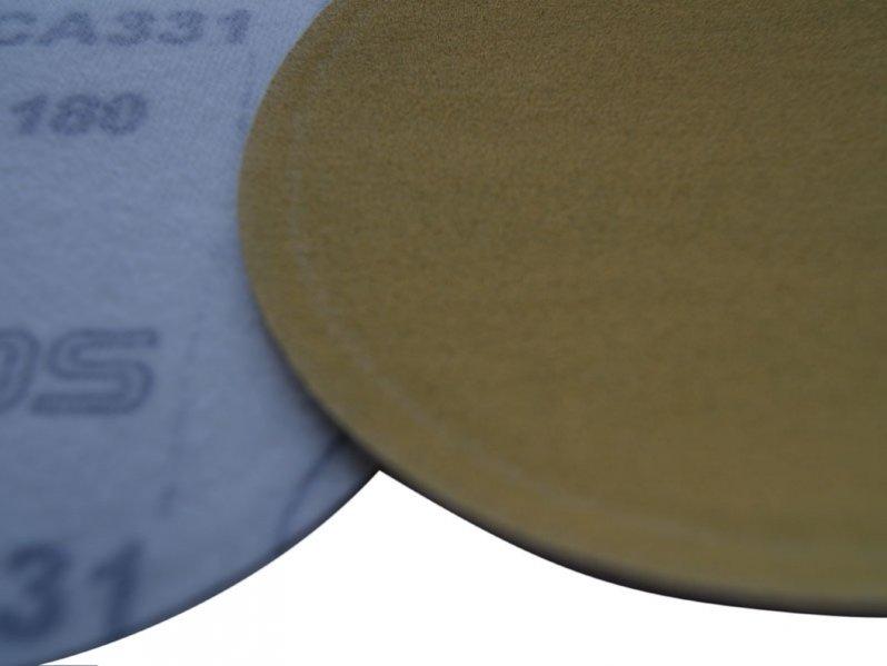 фото Шлифовальные круги CA331 d75, на липучке, зерно P80