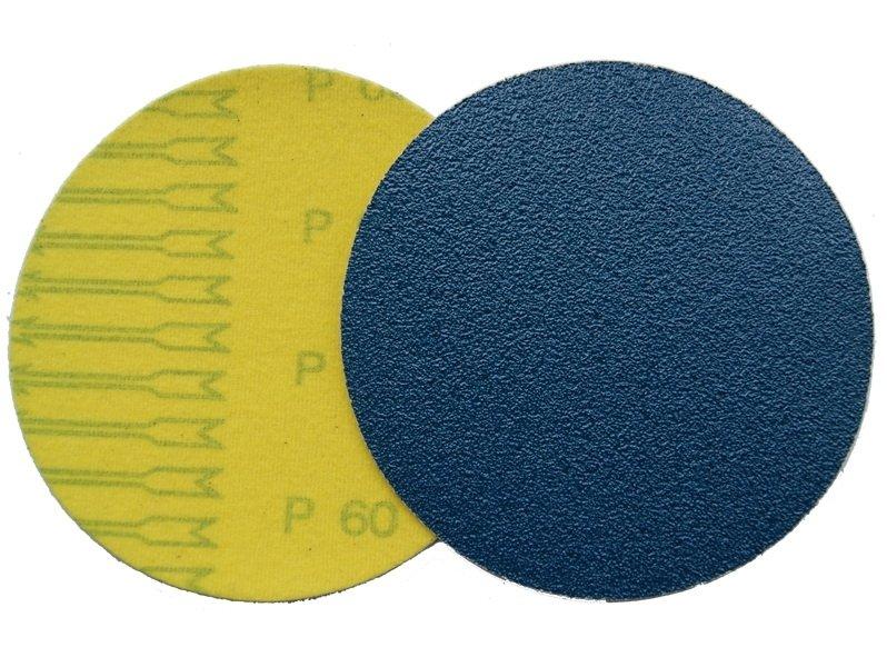 фото Шлифовальные круги Velcro ZK (цирконий) d125, зерно P40