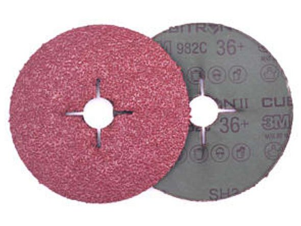 фото Фибровый круг 3M™ Cubitron II 982С, d180, зерно P80