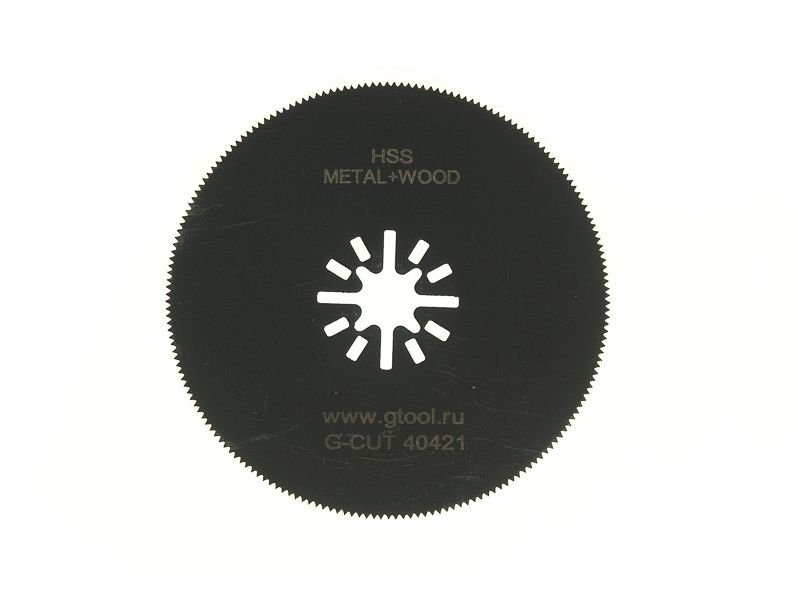 фото Пильное полотно GTOOL G-Cut, HSS, диаметр 80мм