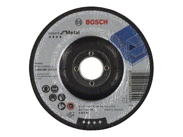 фото Обдирочный круг, выпуклый, Bosch Expert for Metal, d125мм, 10шт