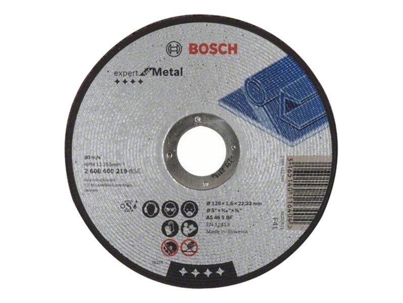 фото Отрезные круги Bosch Expert for Metall, прямой 125х1,6х22мм, 25шт
