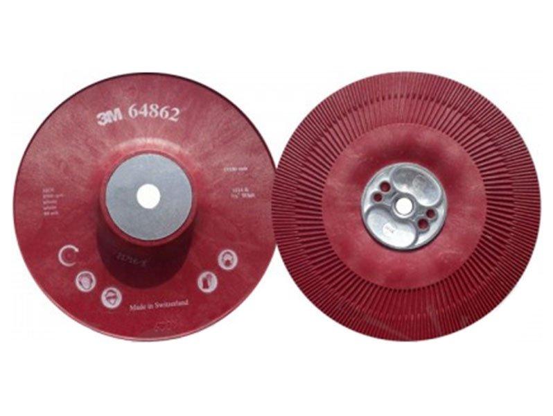 фото Оправка 3M для Фибровых Кругов 180х22мм, рeбристая, M14 и 5/8