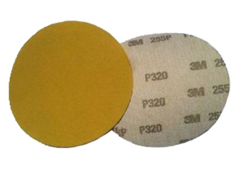 фото Шлифовальные круги 3М 255 P с креплением Хукит (липучка) d125, зерно P150