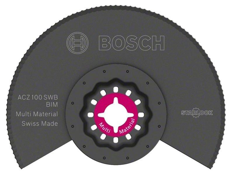 фото Сегментированный нож с волнистой заточкой Bosch BIM ACZ 100 SWB, 1шт 2608661693