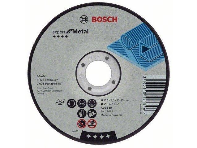фото Круг отрезной Bosch 150х2,5х22,23мм, 25шт