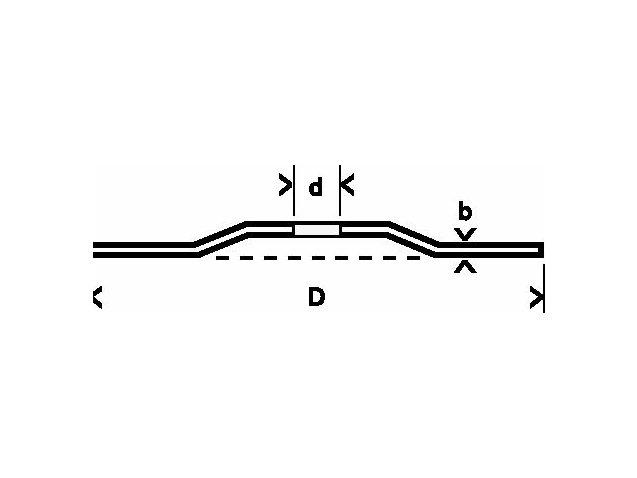 фото Круг отрезной Bosch «3-в-1» изогнутый 125х2,5х22,23мм, 25шт