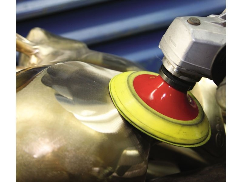 фото Шлифовальные круги d125, на липучке, зерно P400, уп-ка 10шт
