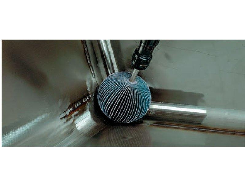фото Шаровидная шлифовальная головка d20мм, зерно Р60