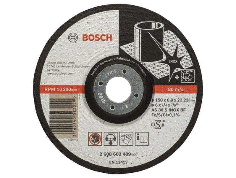 фото Обдирочный круг выпуклый Bosch Expert for Inox d150мм, 10шт