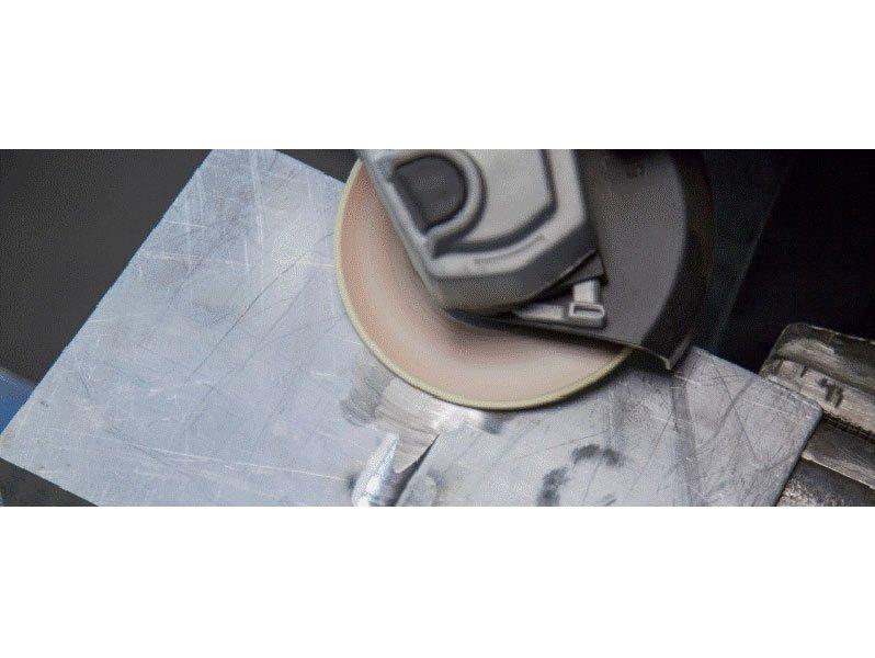 фото Гибкий зачистной круг по алюминию d125, зернистость 54