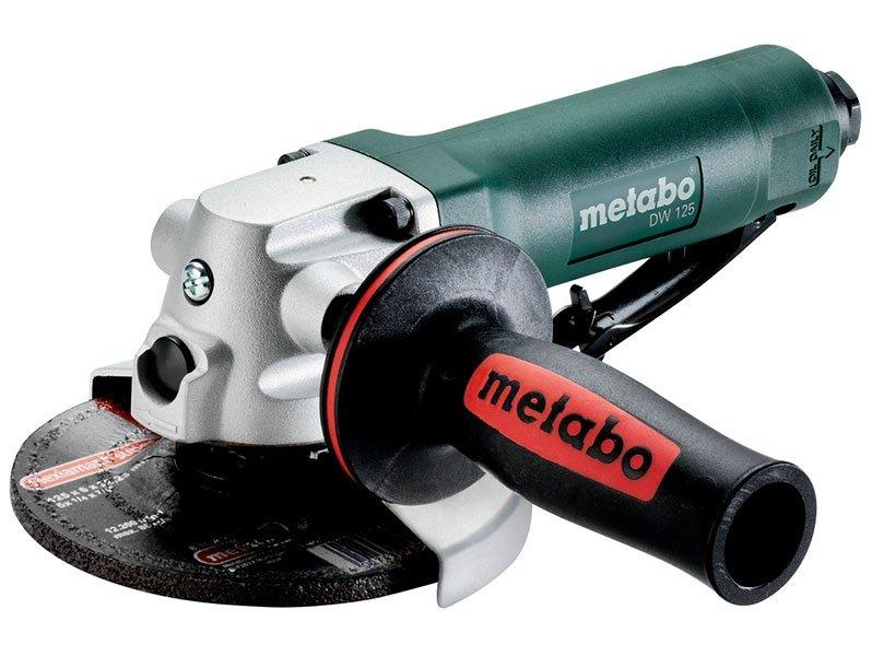 фото Пневматическая углошлифовальная машина Metabo DW 125