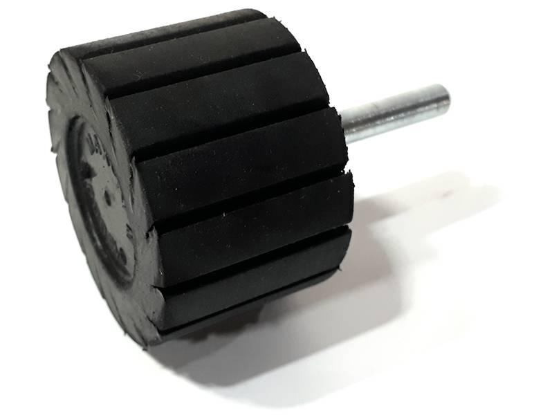 фото Оправка резиновая для шлифовальных минигильз, диаметр 45мм