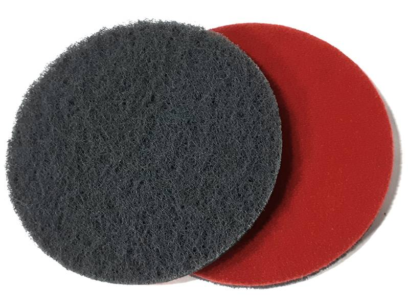 фото Шлифовальный круг из нетканого абразивного материала d125, зерно suf1000 (P1000)