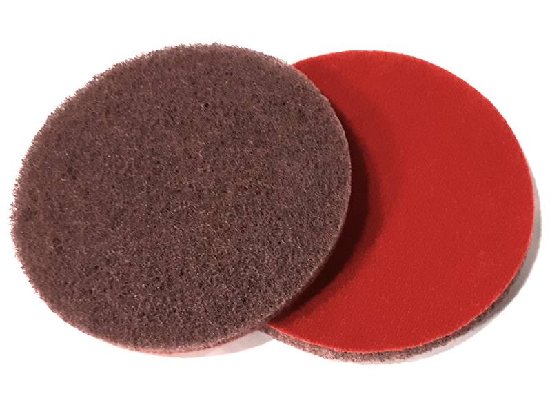 фото Шлифовальный круг из нетканого абразивного материала d125, зерно fine (P180)