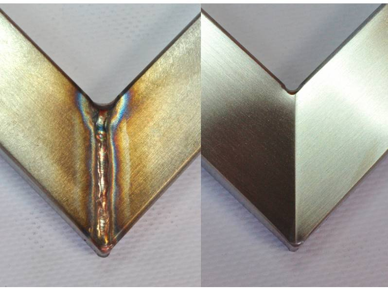 фото Скотч металлический Gtool для сатинирования 40x500мм