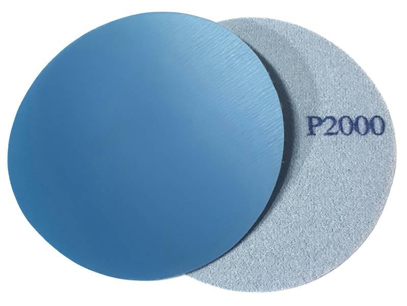 фото Шлифовальный круг SA331 d125мм, зерно P2000 (без отверстий), уп-ка 10шт
