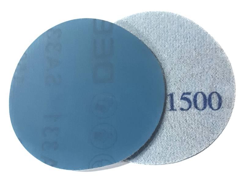 фото Шлифовальный круг DEERFOS SA331 d75мм, зерно P1500 (без отверстий), уп-ка 10шт
