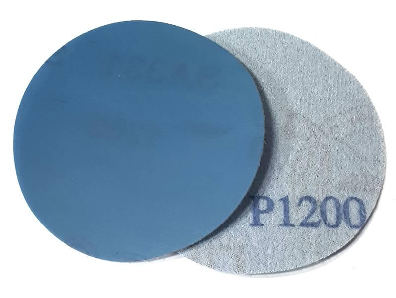 фото Шлифовальный круг DEERFOS SA331 d75мм, зерно P1200 (без отверстий), уп-ка 10шт