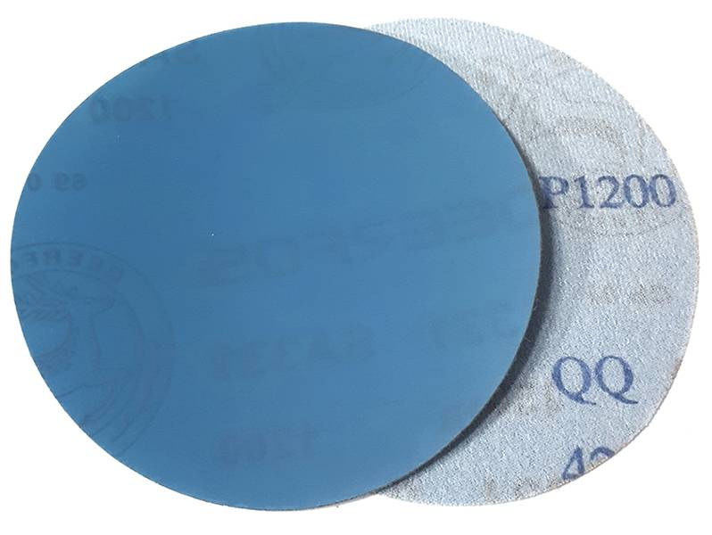 фото Шлифовальный круг SA331 d125мм, зерно P1200 (без отверстий), уп-ка 10шт