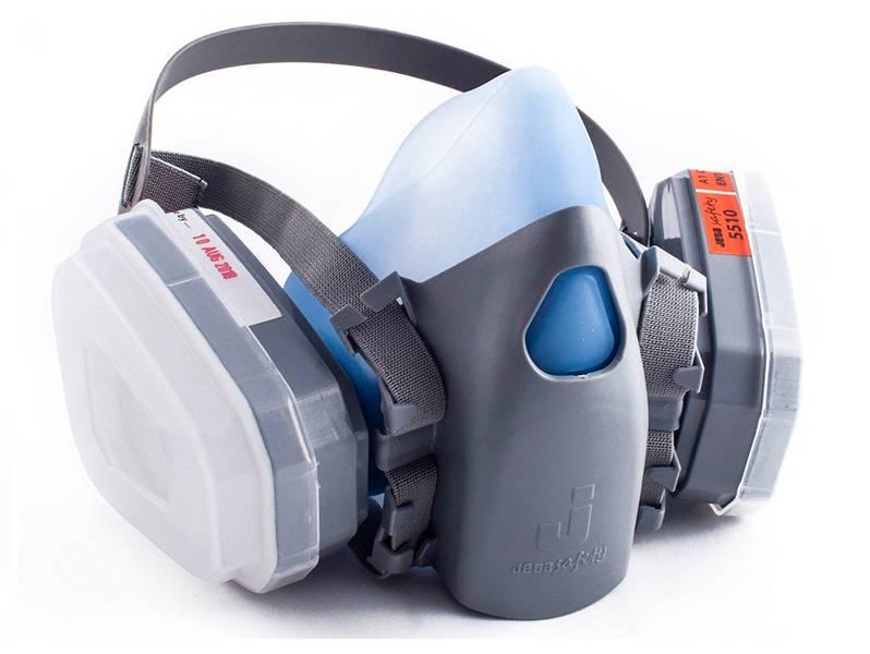 фото Полумаска с двойным фильтром Jeta Safety 5000