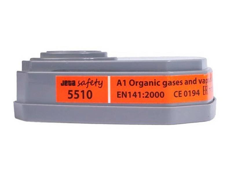 фото Фильтр для защиты от органических газов и паров A1 Jeta Safety 5510