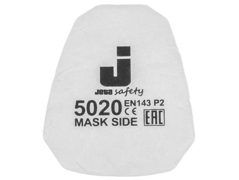 фото Предфильтр для защиты от пыли и аэрозолей P2 Jeta Safety 5020, 2шт