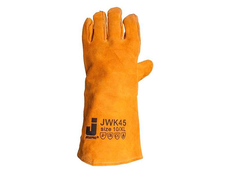 фото Перчатки-краги промышленные сварочные Jeta Safety JWK45