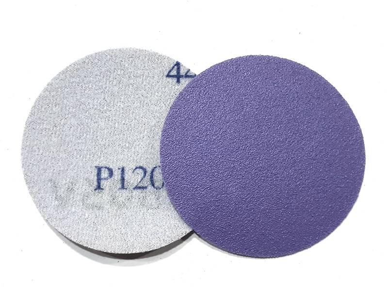 фото Шлифовальный круг Bora-1 d75, на липучке, зерно P120, уп-ка 10шт