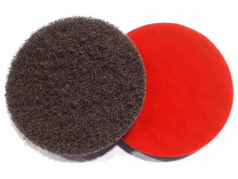 фото Шлифовальный круг из нетканого абразивного материала d125, зерно medium (P120)